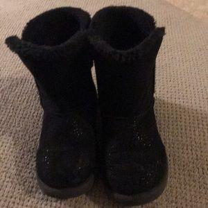Cute black toddler girls  boots $9